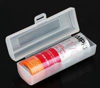 【お取り寄せ★納期 最長 約1ヶ月】VAPEバッテリー20700/21700×1本用 プラスチック製 保護収納ケース