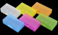 VAPEバッテリー18650×2本まで収納可能 プラスチック製 保護収納ケース
