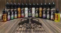 Nameless Element Juice Sliver Label シードルブリュットメントール Necromancer 15ml/30ml60ml★ネームレスエレメント ネクロマンサー