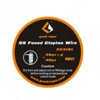 【即納】Geek Vape Fused Clapton SS316L Tape Wire 26ga×2/Paralleled + 30ga 10ft(約3m)
