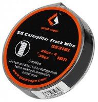 【即納】Geek Vape SS Caterpillar Track Wire 28GA×4+30GA 10ft 約3m