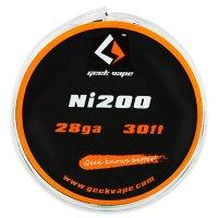 【即納】Geek Vape Atomizer DIY Tape Wire Ni200 26GA/28GA 30ft 約10m★