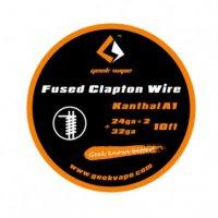 【即納】Geek vape kanthal Fused Clapton wire (24ga*2+32ga) 10ft約3m