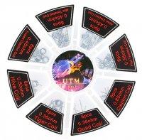 【在庫あり★即納可能】Vapefly カンタルA1 プリメイドコイルセット 8種×6個=48個入り★ベイプフライ RBAアトマイザー用プリメイドコイル