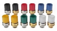 POM製 510 ドリップチップ 22.6mm★Brass + Stainless Steel + POM Hybrid 510 Drip Tip【1855000/1797608/1777300】