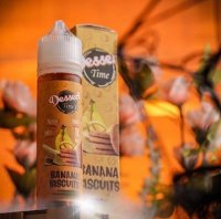 【在庫あり★即納可能】インドネシア産リキッド VapoRex Juice Banana Biskuit 60ml★ヴェポレックス ジュース バナナ ビスケット