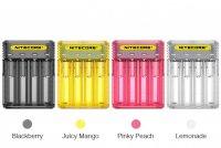 【お取り寄せ★納期 最長 約1ヶ月】Nitecore Q4 4-slot 2A Quick Charger★ナイトコア キューフォー 4本用 リチウムイオンバッテリー 充電器 チャージャー