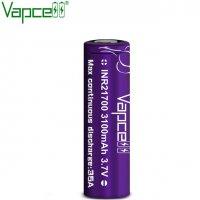 【お取り寄せ★納期 最長 約1ヶ月】Authentic Vapcell INR 21700 リチウムイオン ニッケル リチャージブル バッテリー 3100mah 35A★充電池