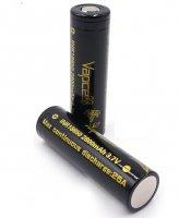 【取寄★納期 最長 約1ヶ月】Authentic Vapcell INR 18650 battery 2800mah 25A★バップセル リチウム イオン ニッケル リチャージブル バッテリー★充電池