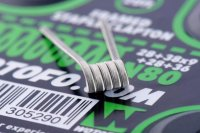 【在庫ラスト1個★即納可能】Wotofo Framed Staple Clapton Wire Ni80 28GA+38GAx9+28GA+36GA 20ft