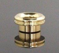 【在庫あり★即納可能】KEMURI PRODUCT製 810 drip tip ベリーショート Brass(ブラス) テーパータイプ★VAPE用 爆煙型ドリチ ドリップチップ