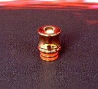 【在庫あり★即納可能】KEMURI PRODUCT製 ドリップチップ 510スレッド Curvyシリーズ Pink Gold(ピンク ゴールド)★VAPE用 味重視型ドリチ★ベイプ(電子タバコ)