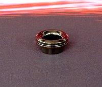 【在庫あり★即納可能】KEMURI PRODUCT製 810スレッド drip tip ベリーショート SS Black plating(ステンレススチール製ブラックメッキ加工) テーパータイプ