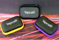 VAPE 21700バッテリー×2本用 ジッパーケース★アスパイア ミニカンPODも入ります★電池 保護ポーチ