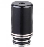 【在庫あり★即納可能】Stainless Steel + POM Hybrid 510 Drip Tip 20.5mm★ステンレススチール+POM製 ドリップチップ★510ドリチ