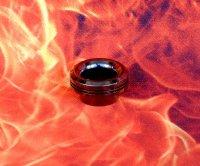 【在庫あり★即納可能】KEMURI PRODUCT製 810 drip tip Type2 ブラックメッキ テーパータイプ★VAPE用 爆煙型ドリチ ドリップチップ
