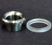 【在庫あり★即納可能】KEMURI PRODUCT製 810 drip tip Type2 Ring Series SSシルバー★VAPE用 爆煙型ドリチ ドリップチップ タイプ2 リングシリーズ