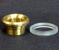 【在庫あり★即納可能】KEMURI PRODUCT製 810 drip tip Type2 Ring Series Brass★爆煙型ドリチ ドリップチップ タイプ2 リングシリーズ ブラス
