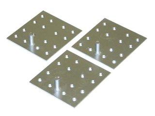 三菱 電気温水器部材 脚固定金具(木質床用 M12ネジ) GZ-H12A