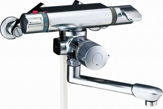 INAX BF-7140TSD シャワーバス水栓 壁付サーモスタット 定水量止水 浴槽・洗い場兼用 一般地用