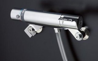 TOTO TMF49E5R サーモスタット混合水栓 オートストップシャワー金具(自閉式) 壁付タイプ 一般地用