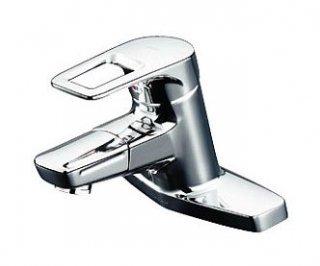 TOTO 洗面所用水栓 TLHG30DQES 台付シングル混合水栓 吐水口回転 一般地用
