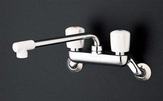 TOTO TKJ20AAU 壁付2ハンドル混合水栓 一般地用