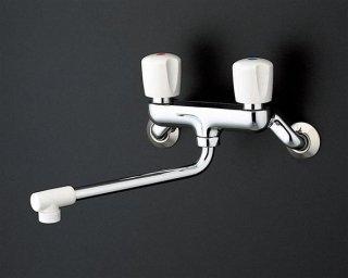 TOTO TKJ20BAU 壁付2ハンドル混合水栓 一般地用