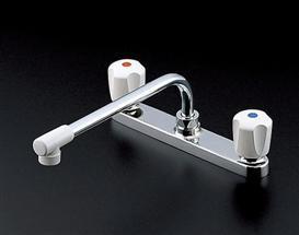 TOTO TKJ23UR 台付2ハンドル混合水栓 台付2穴タイプ 一般地・寒冷地用
