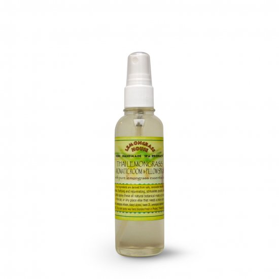 レモングラスルームスプレー Lemongrass Aromatic Room & Pillow Spray