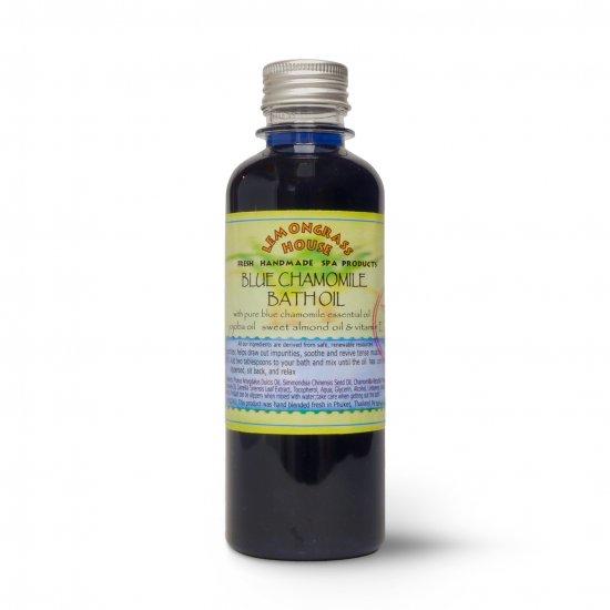 ブルーカモミールバスオイル Blue Chamomile Bath Oil