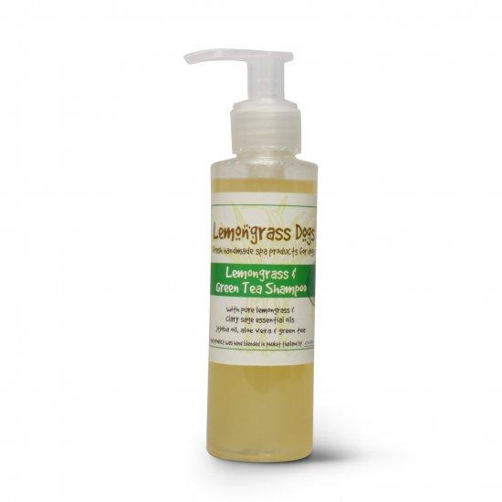 レモングラスグリーンティードッグシャンプー Lemongrass & Green Tea Dog Shampoo