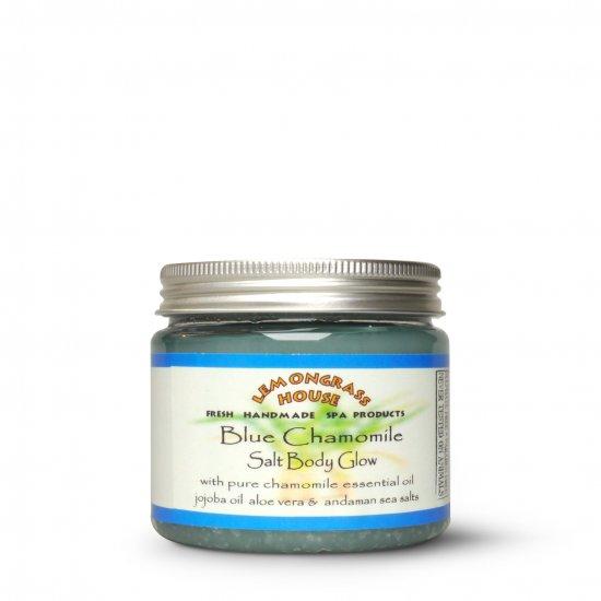 ブルーカモミールソルトボディグロー Blue Chamomile Salt Body Glow