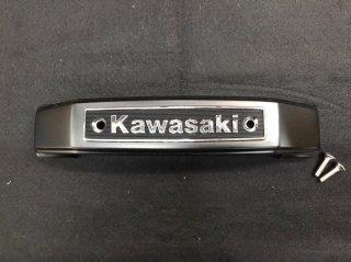 KAWASAKI ステムエンブレム<BK>