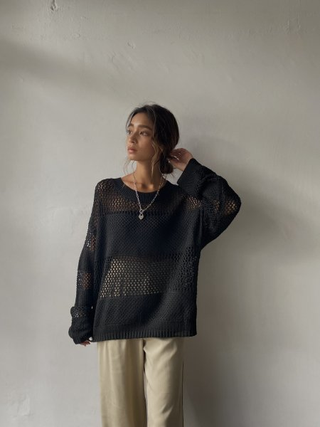 <img class='new_mark_img1' src='https://img.shop-pro.jp/img/new/icons8.gif' style='border:none;display:inline;margin:0px;padding:0px;width:auto;' />《予約販売》seethrough design knit