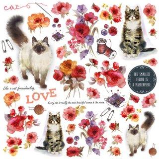 【M005】CAT モチーフペーパー