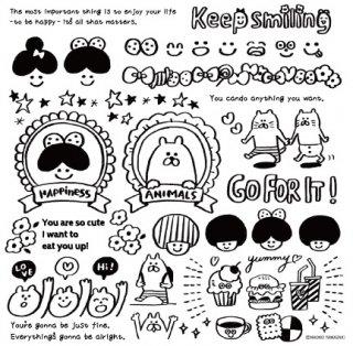 【designer】山崎尚子/keep smiling モチーフペーパー