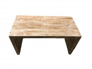 オールドウッドローテーブル(ホワイト)