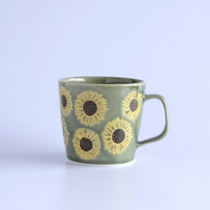 himawari グリーン マグカップ