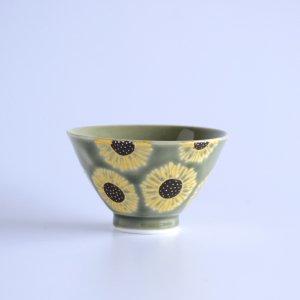 himawari グリーン ミニミニ茶碗