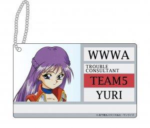 「ダーティペアFLASH 」WWWA アクリルIDカード YURI(ユリ)