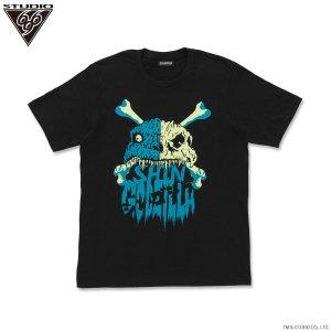 シン・ゴジラ 第四形態スカル Tシャツ feat.STUDIO696