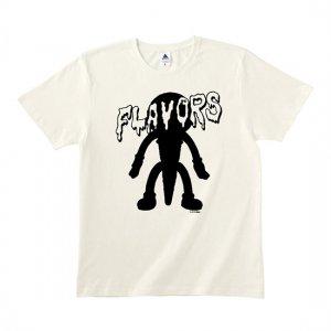 FLAVORS 【'Where The Flavors Are' Ice cream】フレーバーズTシャツ ホワイト