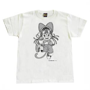 Arale T-shirt 【ねこまねき】Lサイズ Drスランプ アラレちゃん