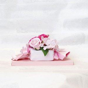 【ソープフラワー:emi】キャンディ|ピンク