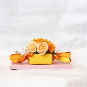 【ソープフラワー:emi】キャンディ|オレンジ