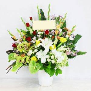 【祝花】生花アレンジメント \28,000
