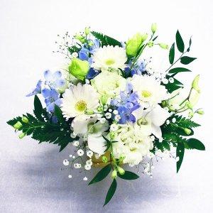 【AM10:00までのご注文で即日発送】お供えアレンジメント S(1)【生花】