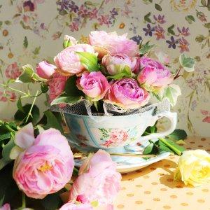 Tea cup bouquet _モンシェリ【生花】