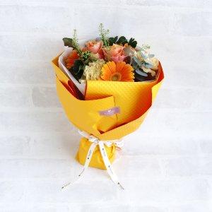 カラードブーケ(オレンジ_S)